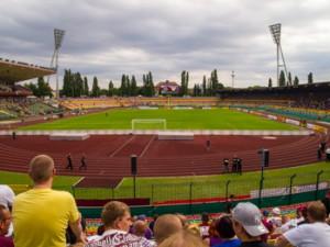 Der Friedrich-Ludwig-Jahn Sportpark in Berlin